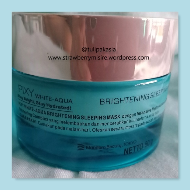 pixy nightcream